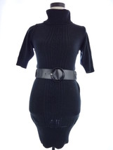 Womens Small XOXO Black Sweater Turtleneck Dres... - $24.00