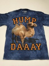 Hump Day Camel 3D Tees By The Mountain Blue T-Shirt Large Excellent Cond... - $12.86