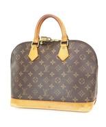 Authentic LOUIS VUITTON Alma Monogram Hand Bag Purse #37782 - $440.10