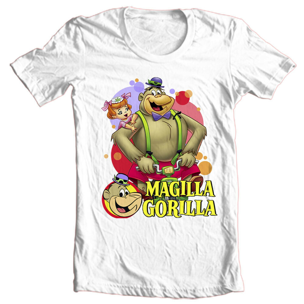 Magilla Gorilla t-shirt classic 1960s Saturday morning cartoons graphic tee