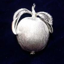 E97 Sarah Coventry Apple Brooch  - $17.67