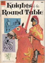 Knights of the Round Table Four Color Comic Book #540 Dell Comics 1954 F... - $18.30