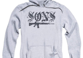 Sons of Anarchy TV crime series California adult graphic hoodie SOA160 image 2