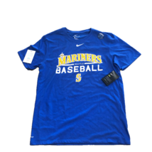 New NWT Seattle Mariners Nike Dri-Fit Cotton Practice Game Royal Large T... - $26.68