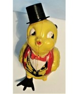Vintage Wind Up Easter Chick Litho Toy Chicken Parts or repair - $29.00