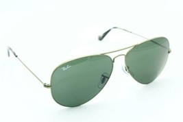 New RAY-BAN Rb 3025 Aviator 9191/31 Green Authentic Frames Sunglasses 62-14 - $191.68
