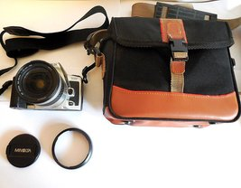 Minolta Dynax 505si with Minolta 28-80mm AF ZOOM Lens & Case, Lens Cap, ... - $79.00