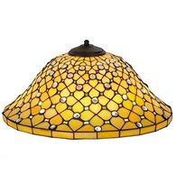 "Meyda Tiffany 37421 Diamond & Jewel Recurve Lamp Shade, 18"" - $410.40"