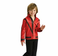RUBIE'S LICENSED MICHAEL JACKSON THRILLER JACKET RED ACCESSORY CHILD LARGE - $32.61