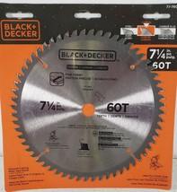 BLACK+DECKER Carbide 77-760 Miter Saw Blade -7 1/4in  60T Fine Finish NE... - $22.98