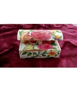 Persian Jewellery box made of Camel Bone with Flower and Birds pattern - $34.95