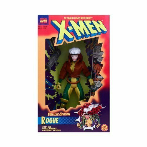 "Uncanny X-Men Rogue Deluxe Edition New in Box 10"" Action Figure 1996 Toy Biz   A"