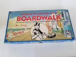 Advance To Boardwalk  Board Game Parker Brothers - $12.34