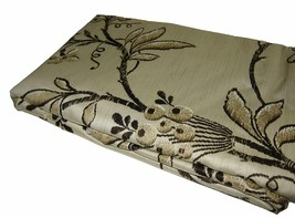 New Ralph Lauren King Pillowcases Pair Plage D'or Floral Beige Brown Gold - $74.57