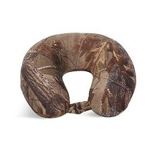 World's Best Feather Soft Microfiber Neck Pillow, Camouflage - $22.20