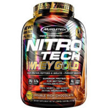 2 x  MuscleTech Nitrotech Casine Gold Double Rich Chocolate (5.5lb) - $820.69