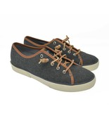 Sperry Top Sider Women's Sz 9M Gray Lace Up Comfort Casual Boat Shoes - $40.99