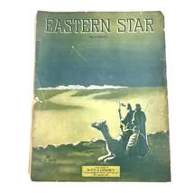 Easter Star Reverie Sheet Music L Buck Antique - $24.70