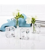 Two's Company Set of 4 Napkin Rings/bud Vase - $12.24