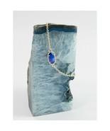 Kendra Scott Elaina Gold Colbalt Cats Eye Chain Bracelet NWT - $63.86