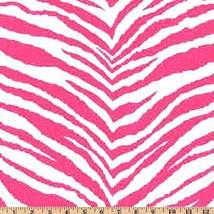 "SAMPLE SALE RUNNER- candy pink fuchsia hot pink and white zebra runner 23"" - $3.90"