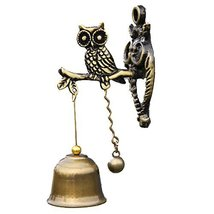 DRAGON SONIC Metal Bell Wind Chimes,Home Doorbell Ornaments,Creative Wind Chimes - $22.20
