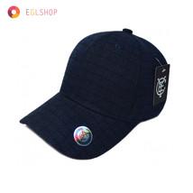 Unisex Navy Check Baseball Cap Sports Major Snapback Hat Plain Basketbal... - $13.01