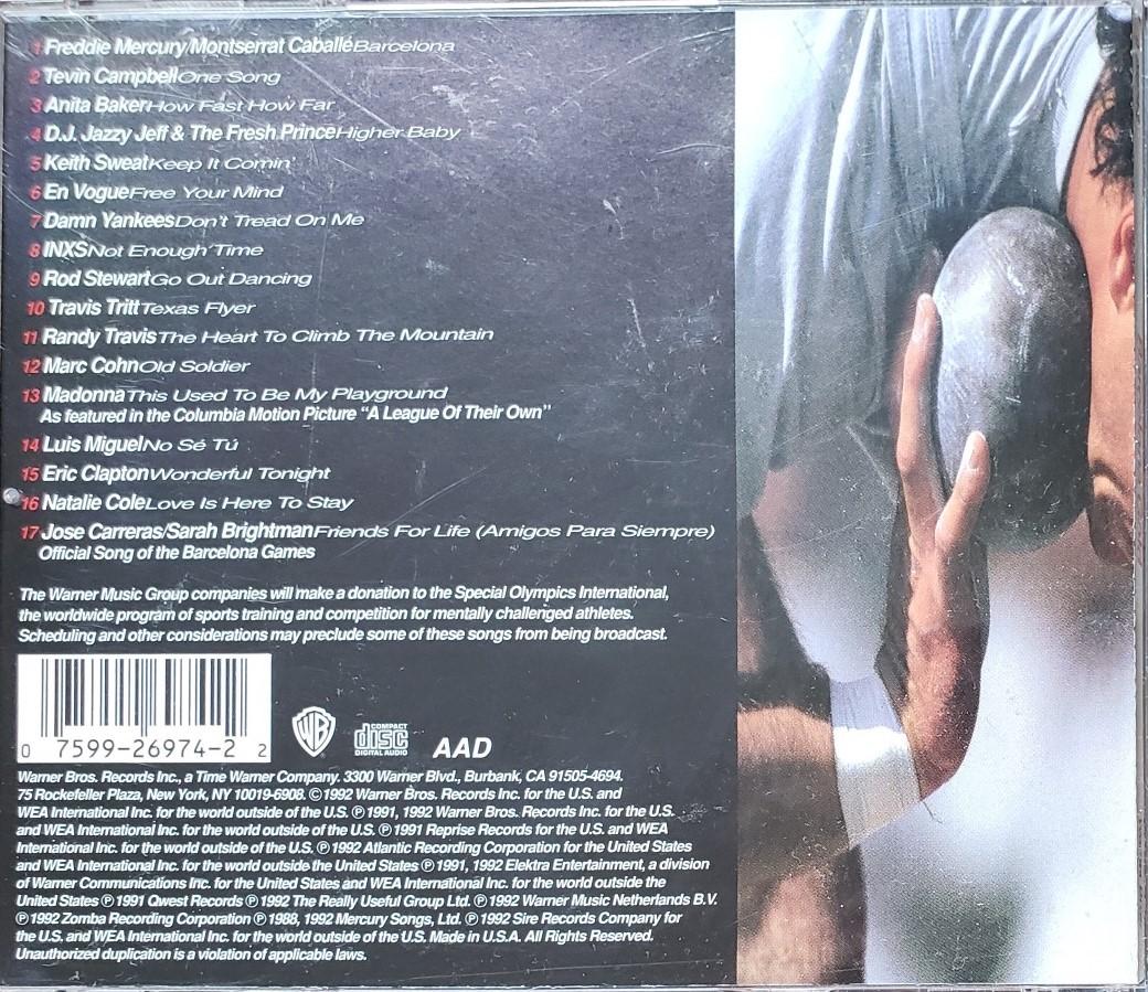 Barcelona Gold: Freddie Mercury/Montserrat Caballe Madonna Eric Clapton CD