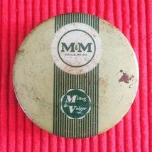 Vintage M&M - Mittag & Volger typewriter ribbon tin packaging image 2