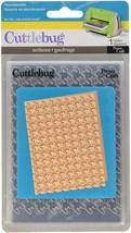 Provo Craft Cuttlebug Embossing Folder Houndstooth #37-1167
