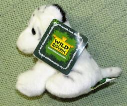 "WILD REPUBLIC WHITE TIGER CUB 5"" PLUSH STUFFED ANIMAL WILD CAT W/ HANG T... - $11.88"