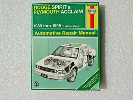 Haynes Publications 30060 Repair Manual Dodge Spring Plymouth Acclaim 1989-1995 - $18.95