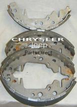 04883833AA NEW OLD STOCK Mopar OEM Rear Disc Brake Pads - $148.44