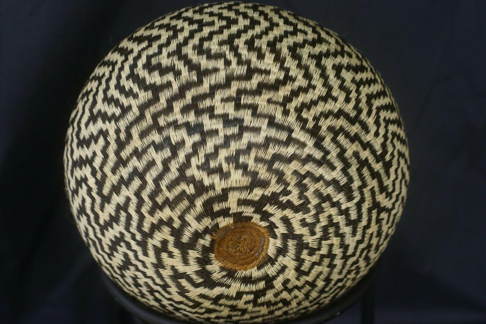 Wounaan Darien Indian Hösig Di Museum Abstract Artist Basket Masterpiece 300A46