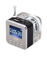 Portable Music Player Digital Mini MP3 Micro SD USB FM Radio Rechargable... - $19.34