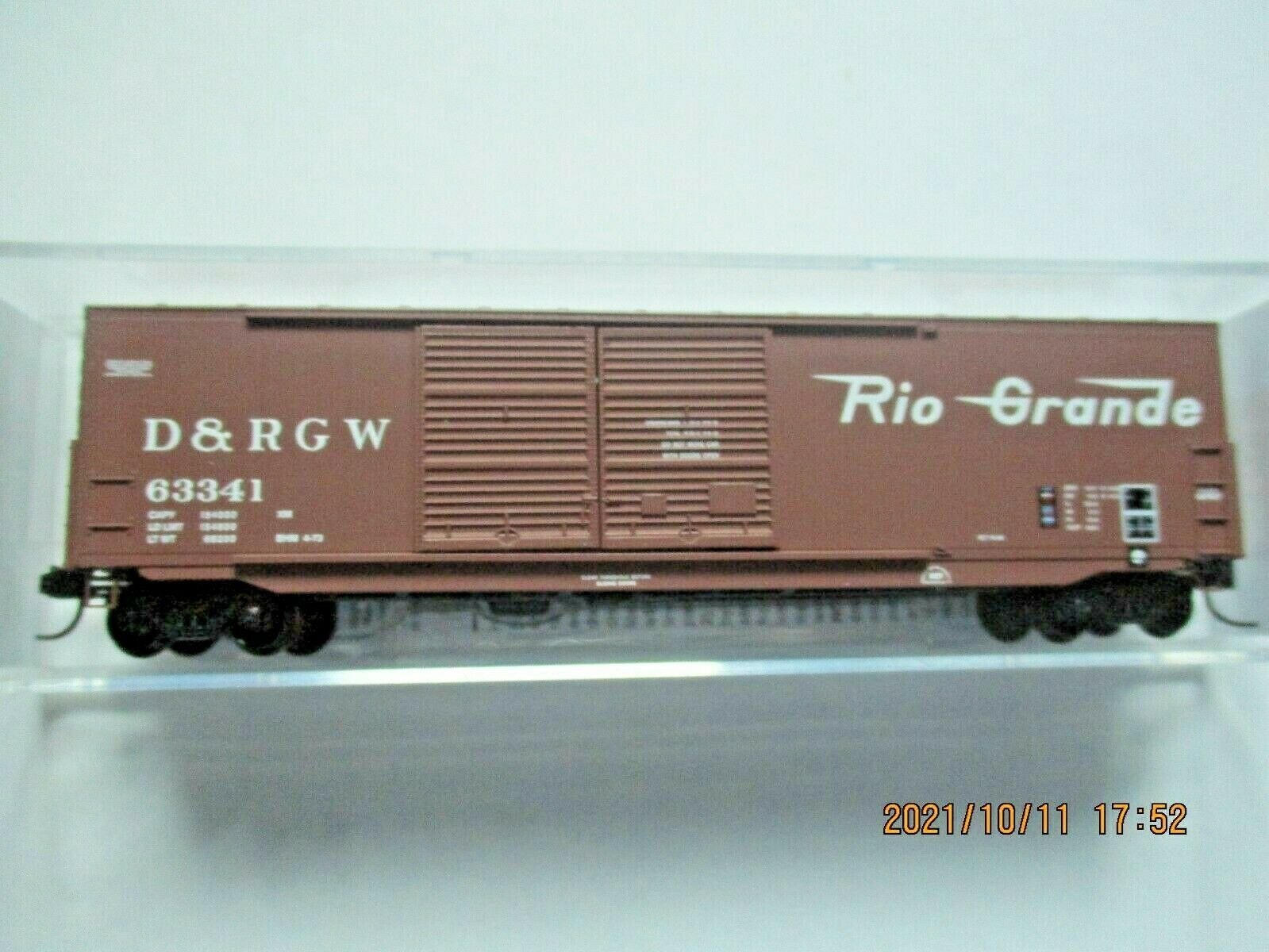 Micro-Trains Stock # 18200162 Denver & Rio Grande Western 50' Boxcar W/Load (N)