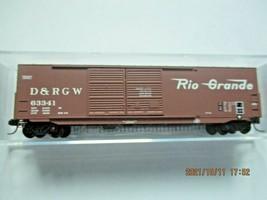 Micro-Trains Stock # 18200162 Denver & Rio Grande Western 50' Boxcar W/Load (N) image 1