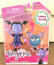 Disney Jr Vampirina  & Buttons Poppy Dolls Figures - $9.89