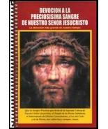DEVOCIÓN A LA PRECIOSISIMA SANGRE DE NUESTRO SEÑOR JESUCRISTO -Libro Pre... - $13.32