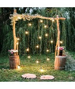 Baocicco 10x10ft Rustic Style Engagement Ceremony Backdrop Stunning Wedd... - $49.62