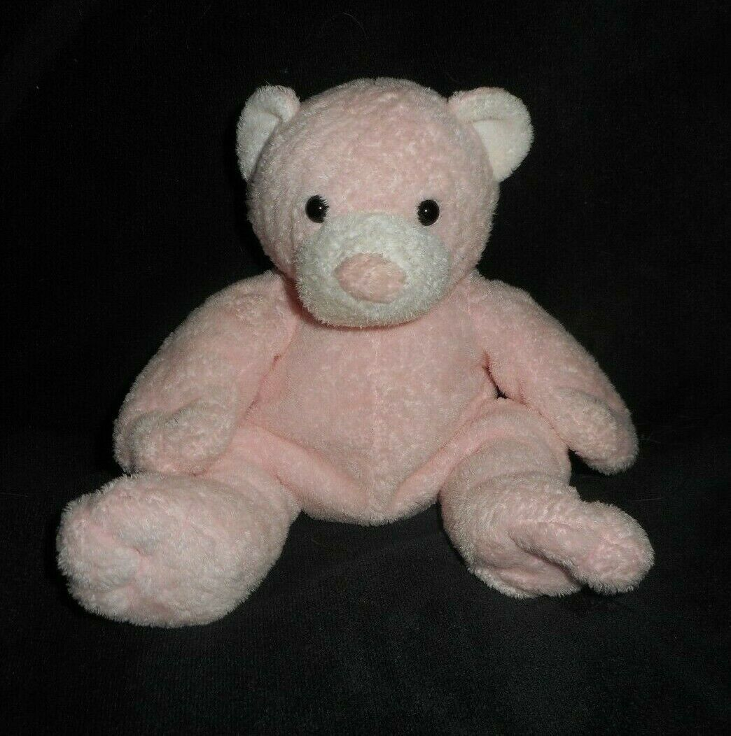 Ty Pluffies 2003 Rosa Confetto Pudder Orsacchiotto Peluche Peluche Morbido Lovey