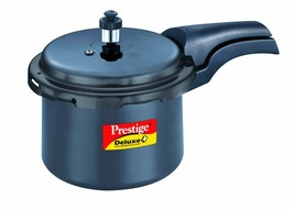 Prestige Deluxe Plus Hard Anodized Outer Lid Pressure Cooker, 3 Litres, ... - $91.07