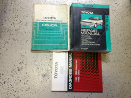 1989 Toyota Celica Service Repair Shop Workshop Manual Set W EWD & Diagn... - $113.80