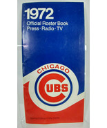 1972 CHICAGO CUBS MEDIA GUIDE Program Baseball Press Book Yearbook Magazine - $11.84