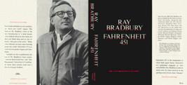 Ray Bradbury Fahrenheit 451 1967 Schwarze Ausführung Faksimile -umschlag - $14.04