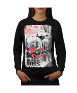 Blonde Spy Girl Fashion Jumper Bombshell Spy Women Sweatshirt - $18.99