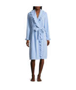 Adonna Long Sleeve Knit Robe Size L Blue Promise New MSRP $49.00 - $21.99