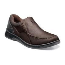 Men shoes Nunn Bush Brookston Brown Leather/Suede Dynamic Comfort 84534-... - €73,86 EUR