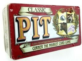 Classic Pit Corner The Market Card Game In Original Tin - New - $27.42