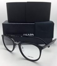 Neu Prada Rx-Able Brille Vpr 03T 1AB-1O1 52-22 145 Schwarz & Silber Fassung